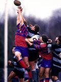 Rugby Game Action Lámina fotográfica
