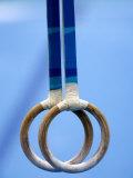 Detail of Gymnastics Rings, Athens, Greece Lámina fotográfica por Steven Sutton