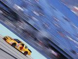 Auto Racing Action Fotografisk tryk af Chris Trotman