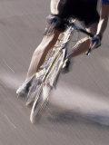 Detail of Road Cyclist Fotografie-Druck