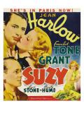 Suzy, Franchot Tone, Jean Harlow, Lewis Stone, 1936 Photo