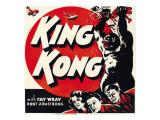 King Kong, Jumbo Window Card, 1933 Photo