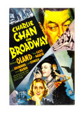 Charlie Chan on Broadway, Warner Oland, 1937 Foto