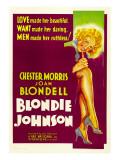 Blondie Johnson, Joan Blondell, 1933 Photo