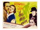 The Thin Man, William Powell, Myrna Loy, 1934 Foto
