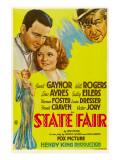 State Fair, Lew Ayres, Janet Ayres, Will Rogers, 1933 写真