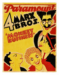 Monkey Business, the Marx Brothers, 1931 Photo