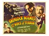 Sherlock Holmes and the Voice of Terror, Thomas Gomez, Reginald Denny, 1942 Foto