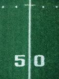 50 Yard Line American Football Fotografisk trykk av Steven Sutton
