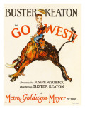 Go West! (Aka Go West), Buster Keaton, 1925 Fotografia