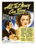 All That Money Can Buy (aka the Devil and Daniel Webster), James Craig, Anne Shirley, 1940 Foto