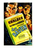 The Raven, Irene Ware, Boris Karloff, Ian Wolfe, Bela Lugosi, Inez Courtney, Lester Matthews, 1935 Fotografia