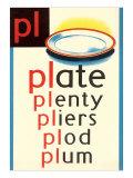 PL for Plate Plakater