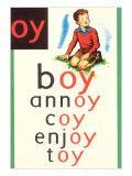 OY in Boy Plakater
