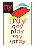 AY in Tray Plakater