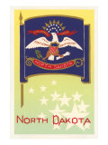 Flag of North Dakota Art
