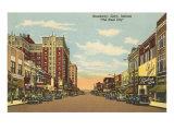 Broadway, Gary, Indiana Poster