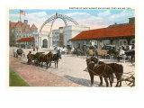 Market Buildings, Ft. Wayne, Indiana Kunstdrucke