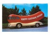 Happy Birthday Hotdog, Wienermobile Pósters
