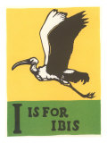 I is for Ibis Affiches