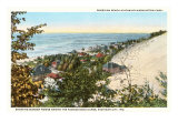 Sheridan Beach, Michigan City, Indiana Poster