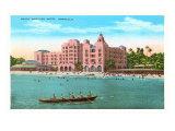 ロイヤル・ハワイアン・ホテル, ホノルル, ハワイ 高画質プリント