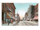 Calhoun Street, Ft. Wayne, Indiana Poster