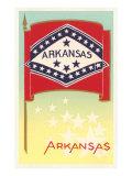 Flag of Arkansas Poster