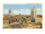 State Capitol, City Hall, Atlanta, Georgia Poster