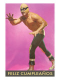 Mexican Wrestler, Feliz Cumpleanos Póster