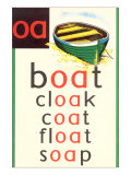 OA in Boat Plakater