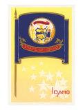 Flag of Idaho Prints