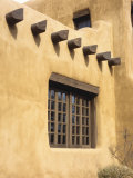 Adobe Architecture, Santa Fe, New Mexico, USA Photographic Print by Jerry Ginsberg