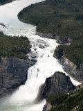 Virginia Falls, Nahanni National Park Reserve, Northwest Territories, Canada Photographic Print by Michael DeFreitas