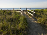 Beach Path at the Center Hill Preserve, Plymouth, Massachusetts, USA Impressão fotográfica por Jerry & Marcy Monkman