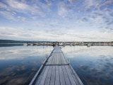 Town of La Baie, Ville Saguenay, Canada Impressão fotográfica por Jerry & Marcy Monkman