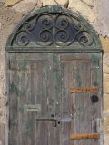 Weathered old door, Valletta, Malta Photographic Print by Alan Klehr