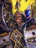 Crop over Carnival, Bridgetown, Barbados, Caribbean Fotografisk trykk av Greg Johnston