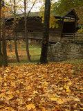 Humpback Covered Bridge, Covington, Virginia, USA Fotografisk trykk av Charles Gurche