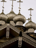 9-Domed Intercession Church, Kizhi Island, Lake Onega, Russia Photographic Print by Cindy Miller Hopkins