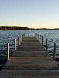 View of Lake Winnipesauke, Wolfeboro, New Hampshire, USA Impressão fotográfica por Jerry & Marcy Monkman