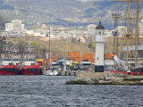 Boat Ride along Coastline, Black Sea, Varna, Bulgaria Photographic Print by Joe Restuccia III