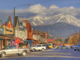 Downtown Whitefish, Montana, USA Photographic Print by Chuck Haney