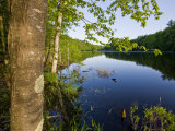 Boulter Pond at Highland Farm, York, Maine Impressão fotográfica por Jerry & Marcy Monkman