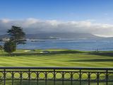 Pebble Beach Golf Club, Carmel, California, USA Reproduction photographique par Rob Tilley