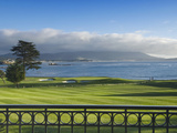 Pebble Beach Golf Club, Carmel, California, USA Stampa fotografica di Rob Tilley