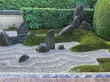 Rock Garden, Zuiho-in, Daitokuji, Kyoto, Japan Fotografisk trykk av Rob Tilley