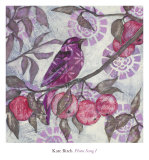Plum Song I Posters by Kate Birch