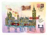 Londres Mon Amour Prints by Martine Rupert