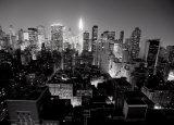 Chrysler Building, Manhattan Night Posters by Michel Setboun